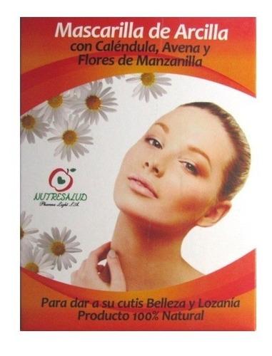 Mascarilla de Arcilla con Calendula, Avena y Manzanilla