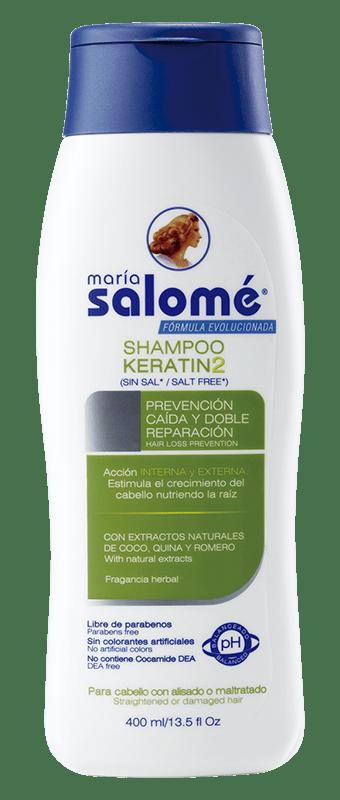 Shampoo Salomé Keratin2 400 ml