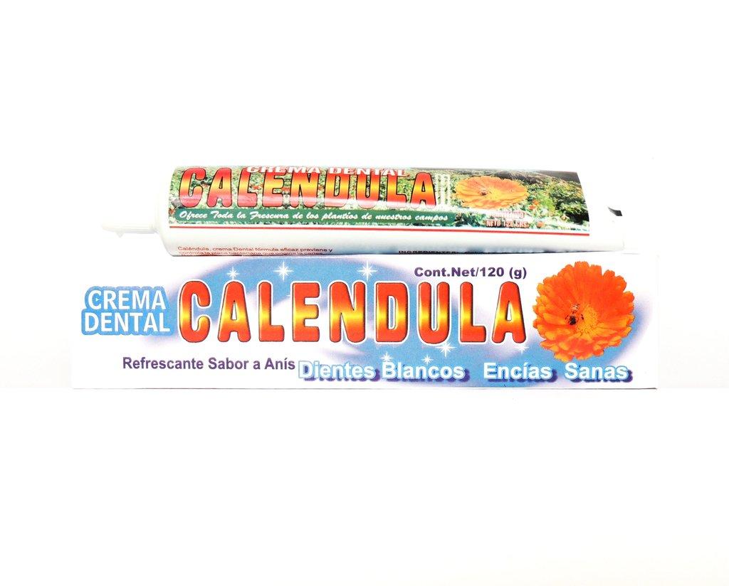 Crema Dental de Caléndula 120 gramos